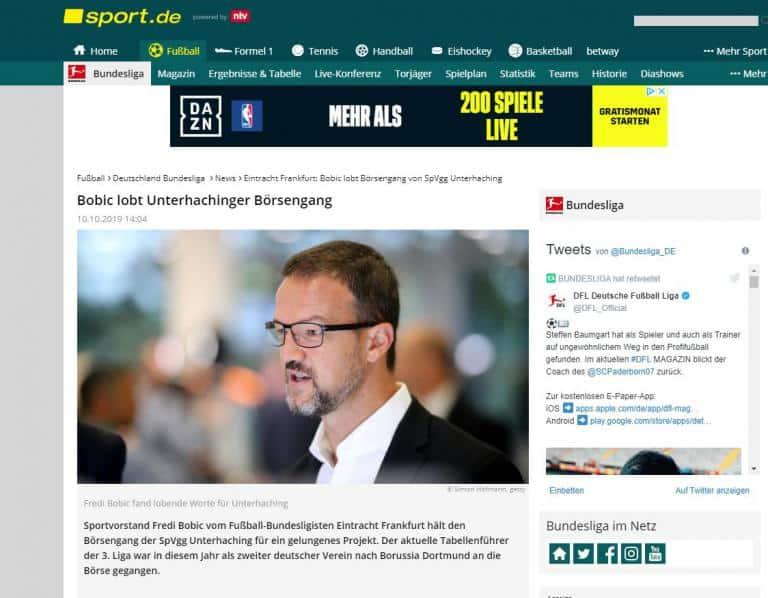Das war der FUSSBALL KONGRESS Deutschland in der Presse