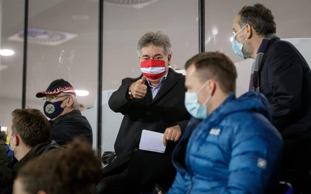 Grußwort von Sportminister Werner Kogler: »Ich darf Sie herzlich beim FUSSBALL KONGRESS Österreich willkommen heißen«